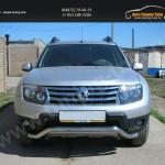 Защита передняя волна d60 Renault Duster 2010+