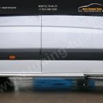 Пороги труба d60 Mercedes-Benz Sprinter 515 2014+