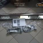 Комплект порогов d51 с площадкой Эстонец /Нерж./ Рено Дастер / Duster
