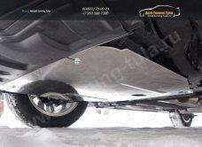Nissan X-Trail 2015-Защиты  (алюминий) 4 мм /арт.808-17