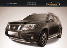 Защита переднего бампера d42 Nissan Terrano 2014+/арт.144-48