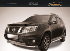 Защита переднего d57 бампера Nissan Terrano 2014+/арт.144-46