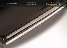 Пороги d57 труба Nissan Terrano 2014+/арт.144-49