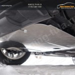 Nissan X-Trail 2015-Защиты (алюминий) 4 мм