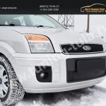 Зимняя заглушка решетки переднего бампера Ford Fusion 2004-2012