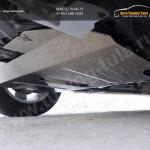 Защита картера (алюминий) 4 мм Geely Emgrand X7 2015+
