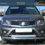 Передняя защита труба d60 Suzuki Grand Vitara 2012+