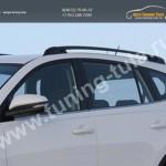 Рейлинги на крышу алюминиевые TOYOTA RAV4 2013+