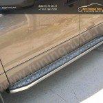 Пороги с накладкой лист 20x40 Suzuki Grand Vitara 2012+