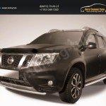 Защита переднего бампера d42 Nissan Terrano 2014+