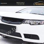 Зимняя заглушка решетки переднего бампера KIA Cerato Forte 2008-2013
