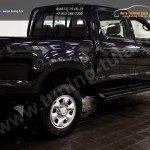 Пороги металлические Toyota Hilux 2011+