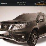 "Защита переднего d57 бампера ""волна"" Nissan Terrano 2014+"