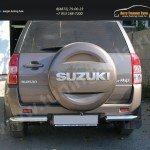 Защита задняя уголки d60 Suzuki Grand Vitara 2012+