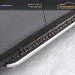 Nissan X-Trail 2015-Пороги с площадкой 60,3 мм /