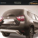 "Защита заднего бампера d57 ""скоба"" Nissan Terrano 2014+"