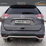 Nissan X-Trail 2015-Защита задняя 42,4 мм