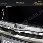 Накладка на порожек багажника Renault Sandero 2014+