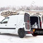 Обшивка задних дверей Lada Largus фургон 2012-OLL-032102