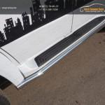 UAZ Patriot 2015-Защита порогов 60,3 мм