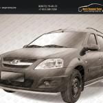 Защита переднего бампера d42 Lada Largus 2012+