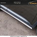 Пороги труба 60,3 мм Mitsubishi Outlander 2015
