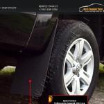 Брызговики 4 шт. Volkswagen Amarok 2010+