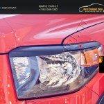 Накладки на передние фары (реснички) Toyota Tundra 2013+