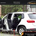 Накладки на внутренние пороги дверей Volkswagen Tiguan 2011