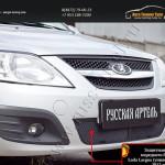 Защитная сетка переднего бампера Lada Largus фургон 2012