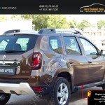 Пороги металлические. Вариант 1 Renault Duster 2015+