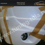 Накладки на передний бампер 2 шт. Митсубиши Outlander 2012-14