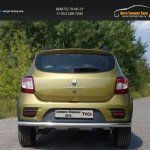 Защита задняя 60,3 мм Renault Sandero Stepway 2014+