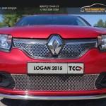Защита передняя нижняя 42,4 мм Renault Logan 2015+Защита передняя нижняя 42,4 мм Renault Logan 2015+Защита передняя нижняя 42,4 мм Renault Logan 2015+