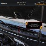 Жабо (цельное) Renault Duster 2015+