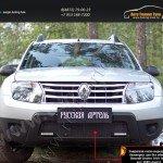 Защитная сетка переднего бампера(с дхо без обвеса) Renault Duster 2010-2014