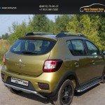 Защита задняя 42,4 мм Renault Sandero Stepway 2014+