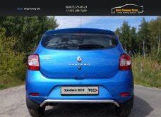 Защита задняя верхняя 42,4 мм Renault Sandero 2014+/арт.817-17