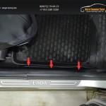 Накладки на ковролин КАРТ Лада Ларгус 2012- фургон