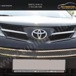 Накладка на решетку в бампер trv-1302 TOYOTA RAV-4 2013+