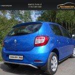 Защита задняя верхняя 42,4 мм Renault Sandero 2014+