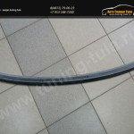 TRUNK SPIOLER / ЛИП СПОЙЛЕР SKODA OCTAVIA III A7 (2013, 2014, 2015)