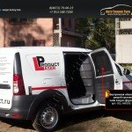 Внутренняя обшивка боковых дверей грузового Lada Largus фургон 2012+