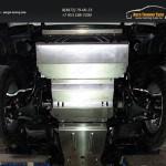 Защита радиатора+Защита картера+Защита КПП+Защита раздатки+Защита бака Mitsubishi L200 2015+/арт.819-22