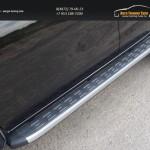 Пороги алюминиевые с пластиковой накладкой 1820 мм MITL20015-11AL Mitsubishi L200 2015+/арт.819-10