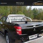 Защита кузова и заднего стекла 76,1 мм Mitsubishi L200 2015+/арт.819-17