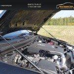 Упор капота (комплект) Mitsubishi L200 2015+/арт.819-23
