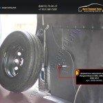 Держатель запасного колеса Peugeot Boxer,Citroen Jumper,Fiat Ducato 2006-2013 (L4H3, L4H2, L3H3)