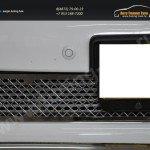 Накладка на решетку в бампер TLP 1003 1шт. LAND CRUISER PRADO 150 2009+/арт.289-32