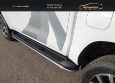 Защита порогов 42,4 мм Toyota Hilux 2015/арт.820-10